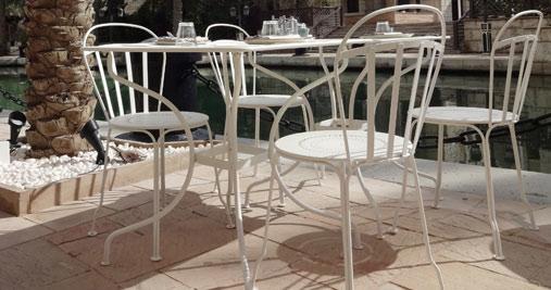 Table carr e op ra table de jardin metal - Fermob opera table ...
