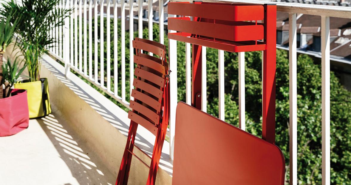 Table balcon bistro table pliante pour balcon for Fermob table de jardin