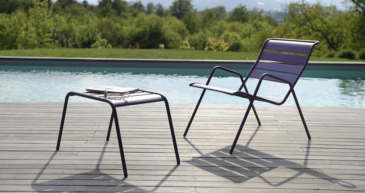 fauteuil bas monceau fauteuil de jardin pour salon de jardin. Black Bedroom Furniture Sets. Home Design Ideas