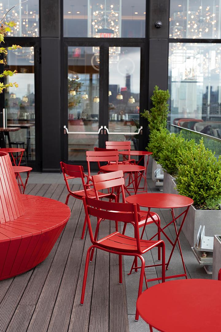 chaise métal, table metal, table pliante, chaise design,  mobilier d exterieur, mobilier terrasse, mobilier de jardin