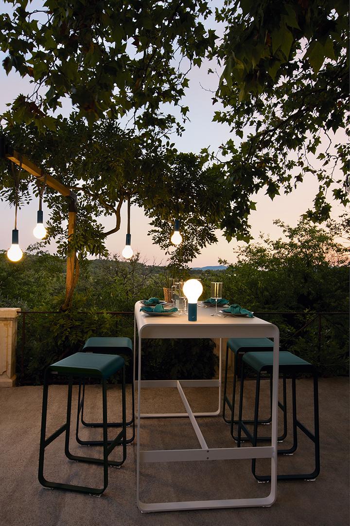 lampe Fermob, lampe sans fil,  lampe design, outdoor, luminaires
