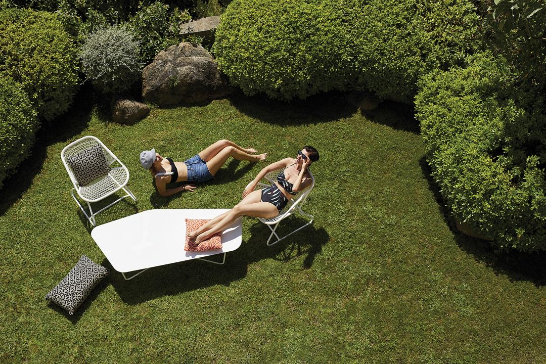 salon de jardin, table basse metal, salon de jardin design, table basse design