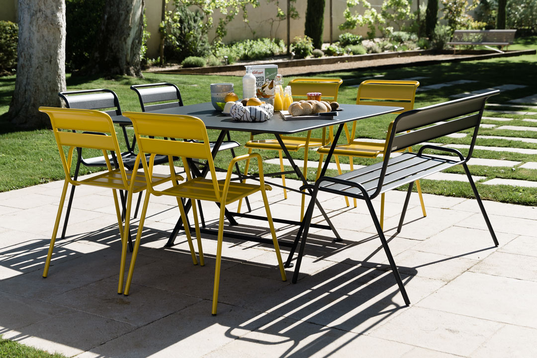table metal, chaise metal, table pliante, chaise de jardin, table metal carree, mobilier de jardin