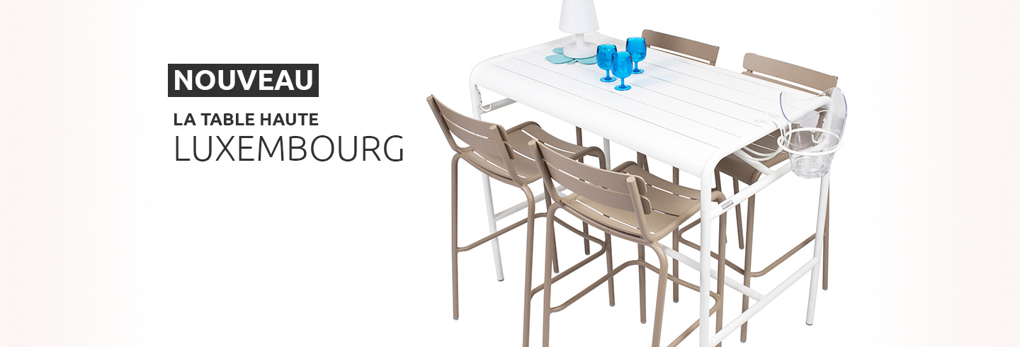 BANNER table haute Luxembourg