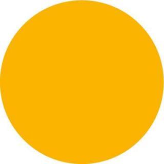 Couleur Miel satinée lisse jaune orangée