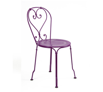 Chair 1900 Aubergine