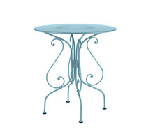 Ø 67 cm round table Fjord Blue