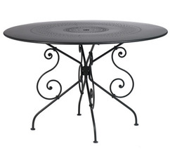 Table Ø 117 cm 1900 Réglisse