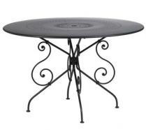 Ø 117 cm round table Liquorice