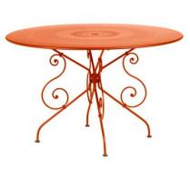 Ø 117 cm round table Paprika