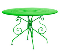 Ø 117 cm round table Grass Green