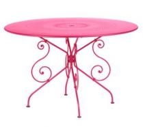 Ø 117 cm round table Fuchsia