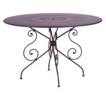 Ø 117 cm round table Plum