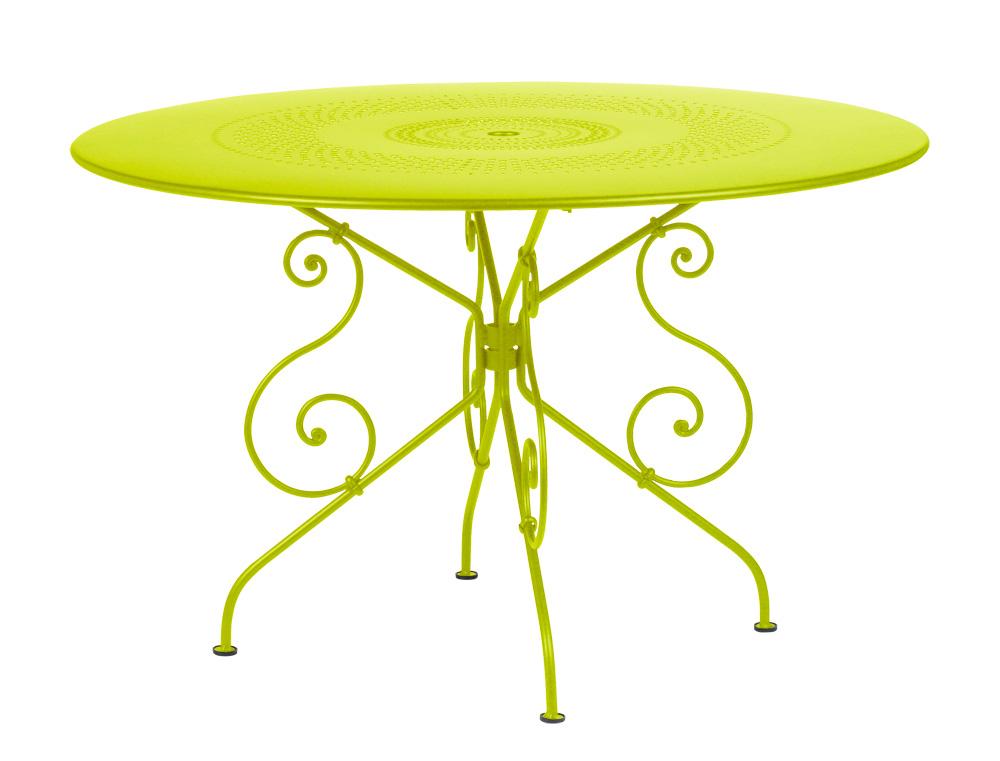Beautiful Table Ronde De Jardin Couleur Photos - Awesome Interior ...