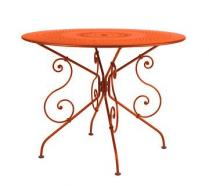 Ø 96 cm round table Paprika