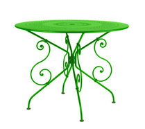 Ø 96 cm round table Grass Green