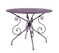 Ø 96 cm round table Plum