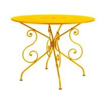 Ø 96 cm round table Honey