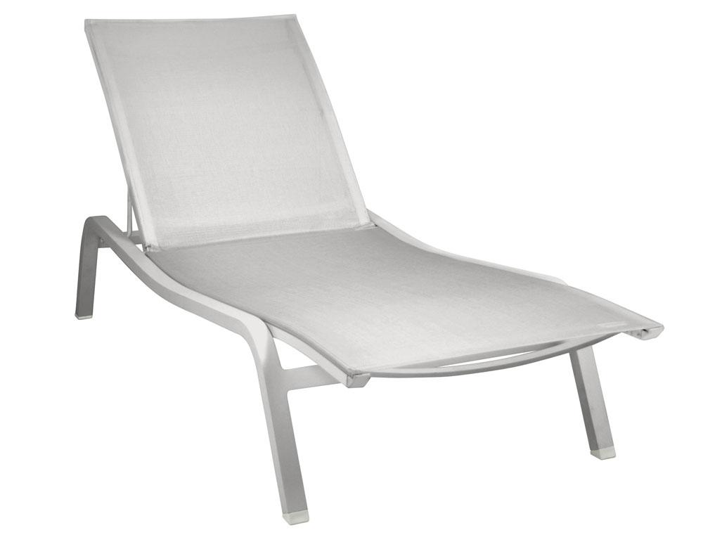 bain de soleil aliz fermob moderne transat en aluminium. Black Bedroom Furniture Sets. Home Design Ideas