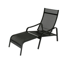 Deck chair Alizé Liquorice