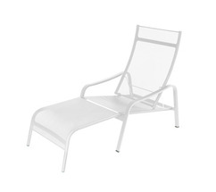 Deck chair Alizé Cotton White