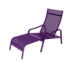 Deck chair Alizé Aubergine