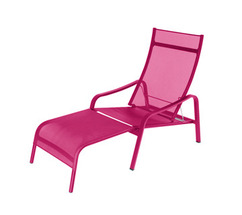 Deck chair Alizé Fuchsia