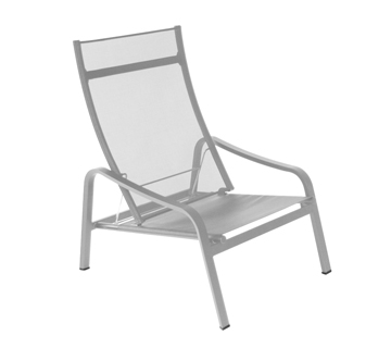 low armchair Alizé Steel Grey