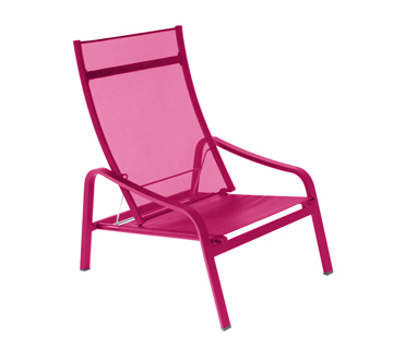 low armchair Alizé Fuchsia