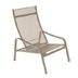 Furniture Alizé : garden low armchair Color Nutmeg Design by Pascal Mourgue