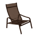 Furniture Alizé : garden low armchair Color Russet Design by Pascal Mourgue