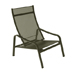 Furniture Alizé : garden low armchair Color Liquorice Design by Pascal Mourgue