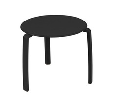 Low table Ø 48 cm Alizé Liquorice