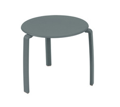 Low table Ø 48 cm Alizé Storm Grey