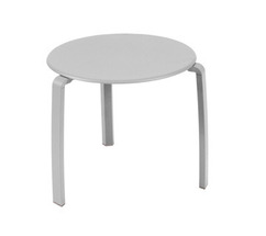 Low table Ø 48 cm Alizé Steel Grey