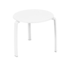 Low table Ø 48 cm Alizé Cotton White