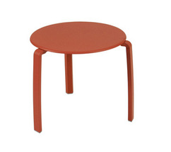 Low table Ø 48 cm Alizé Paprika