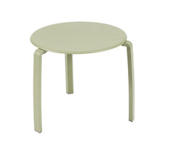 Low table Ø 48 cm Alizé Willow Green