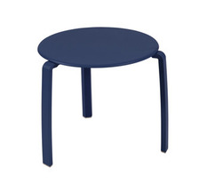Low table Ø 48 cm Alizé Cobalt Blue