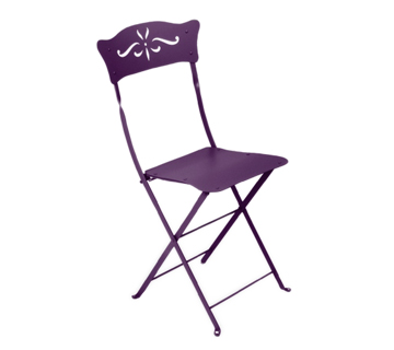 Fermob bagatelle colourful metal folding chair designed - Chaise dune fermob ...