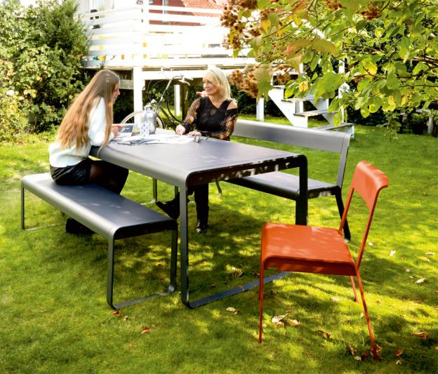 Table bellevie fermob contemporaine pour l 39 ext rieur - Table de jardin fermob soldes ...