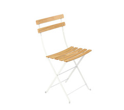 Natural chair Bistro Cotton White