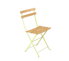 Natural chair Bistro Aniseed Green