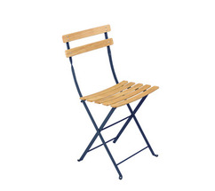 Natural chair Bistro Cobalt Blue