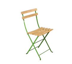 Natural chair Bistro Grass Green