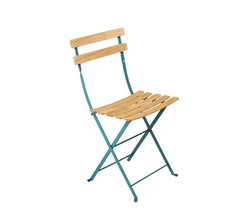 Natural chair Bistro Turquoise