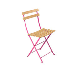 Natural chair Bistro Fuchsia