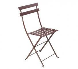 chaise bistro rouille