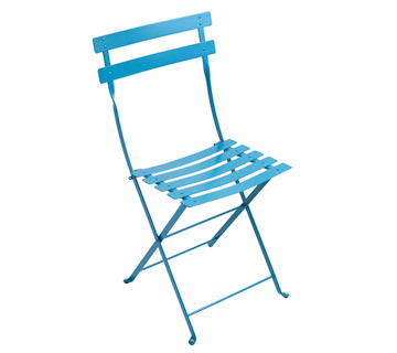 Fermob bistro colourful french folding metal chair - Chaise bistro fermob ...