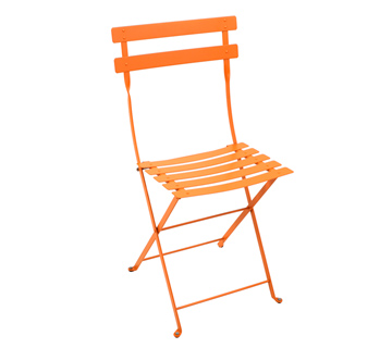 Fermob bistro colourful french folding metal chair - Chaise metal couleur ...